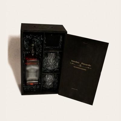 """Whiskey Set Box - GroomsMan"" rinkinys II"