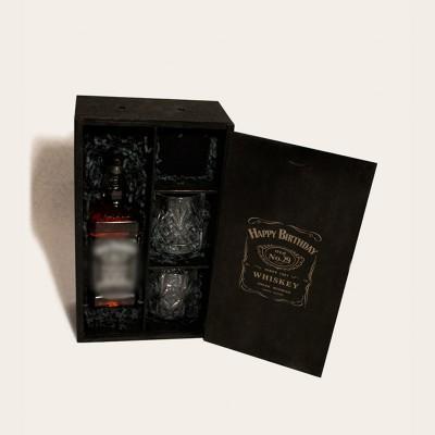 """Whiskey Set Box - Happy Birthday"" rinkinys II"